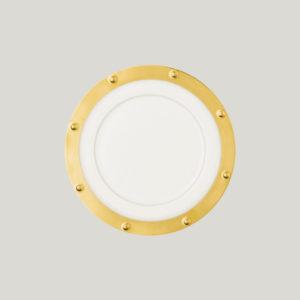 Kulatý talíř - Queen Golden Golden