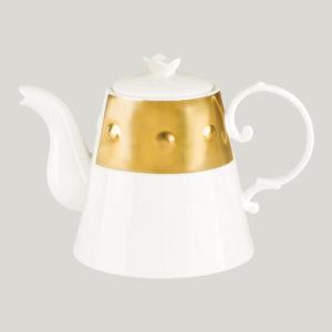 Konvice na čaj s víčkem - Princess Golden Golden